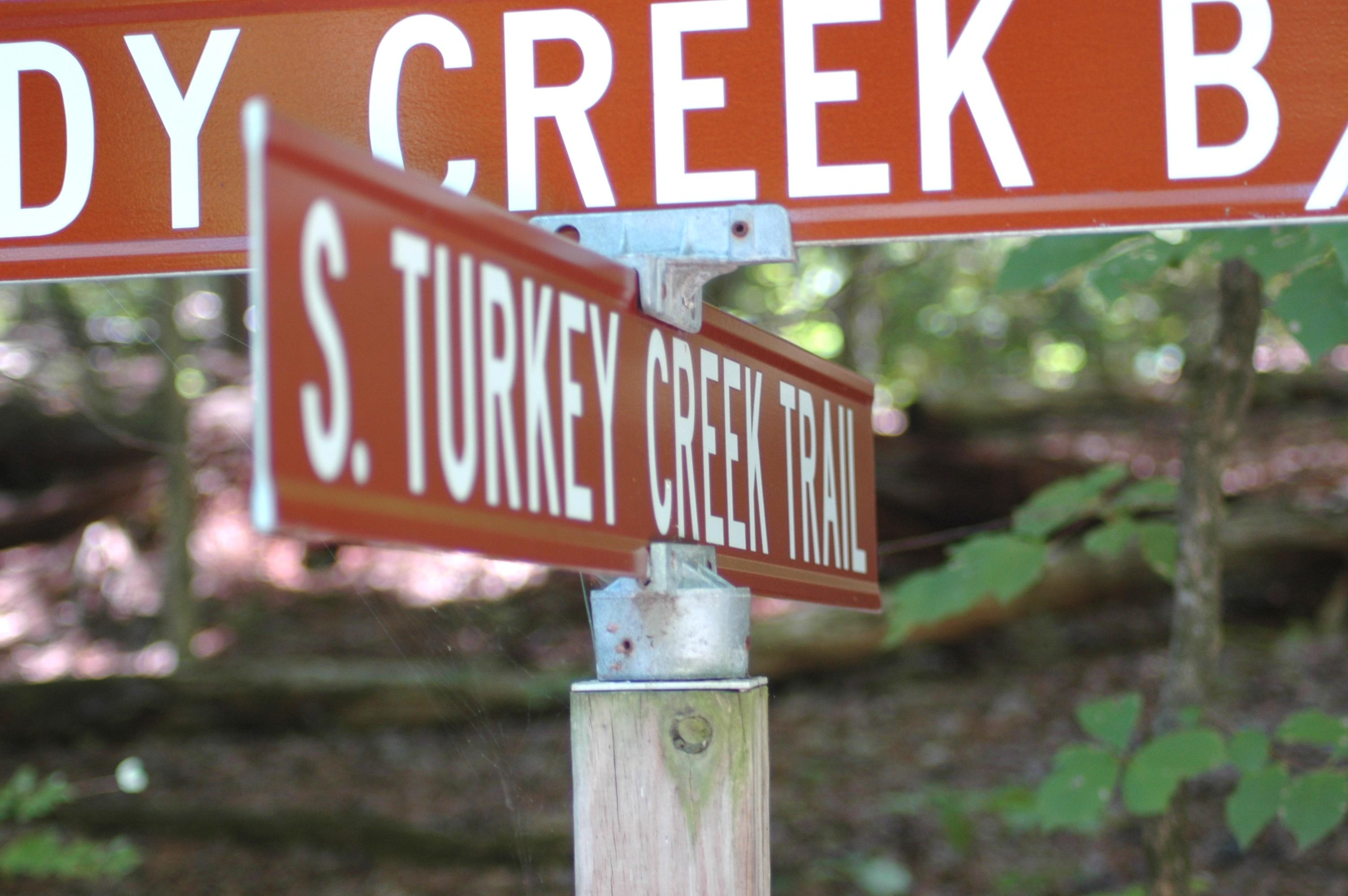 Turkey Creek Sign